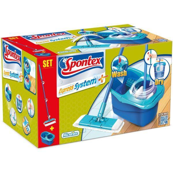 Seturi de curățare - Spontex Express + Mop + găleată 97050335 -