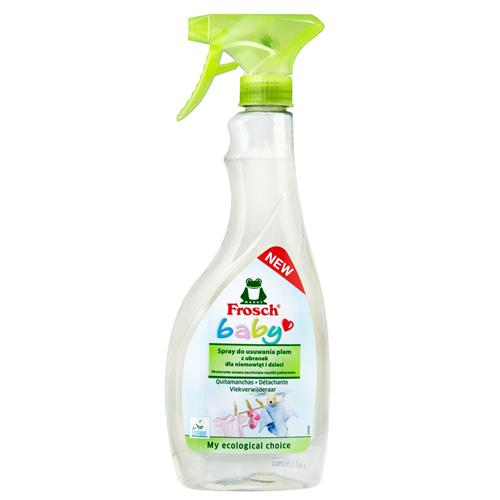 Frosch Stain Spray pentru copii pentru îndepărtarea petelor de la îmbrăcămintea pentru copii 500ml
