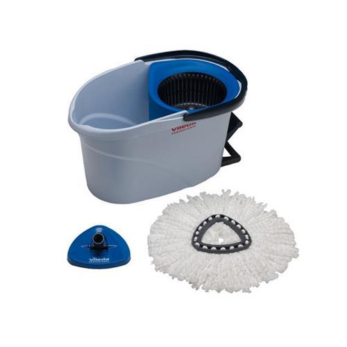 Vileda Kit de pornire cu ultrasunete Bucket Blue + Mop 152910 Vileda Professional