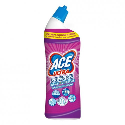 Gel de toaletă Ace Ultra 750ml Pro roz Pink Gamble