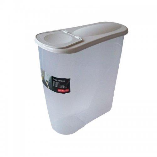 Plast Team Mic dejun Container de cereale 3,5l 3560 Alb