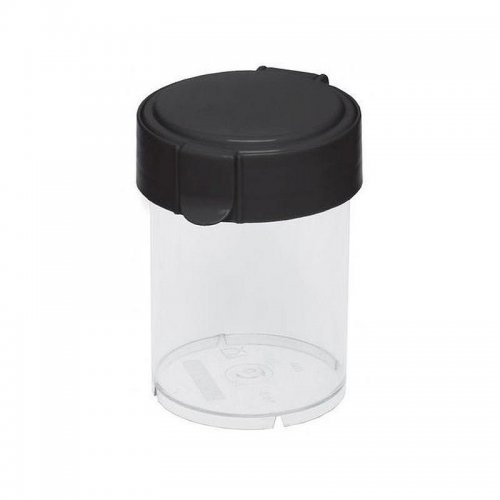 Plast Team Container Round Mary 0.6l Black 1850