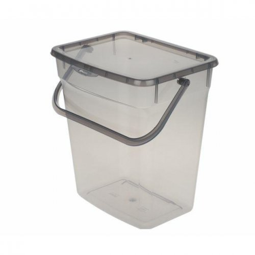 Plast Team Container Powder 10l Grey 5060