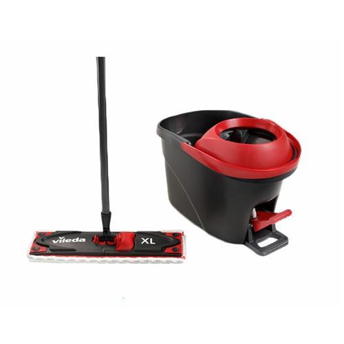 Vileda Ultramat Turbo Flat XL 161023 Mop + Set cu găleată