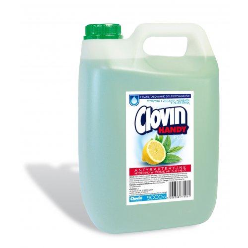 Săpun lichid 5l Clovin de ceai verde cu lămâie