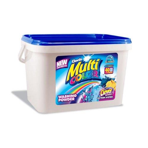 5 kg Bucket cu pulbere multicolor Clovin