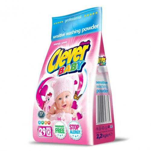 Pulbere Clever Baby Clovin Foil 2,2 kg