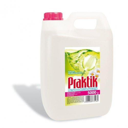 Praktik Spălare vase lichid 5l camomilă Clovin