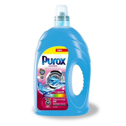 Purox Washing Liquid 4.3l Clovin Color