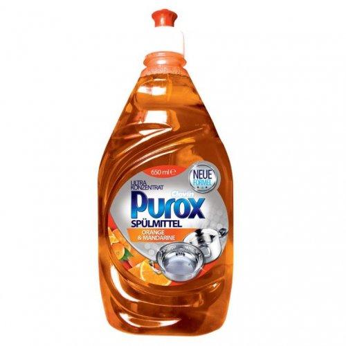 Purox Mașină de spălat vase Concentrat Portocaliu 650ml Clovin