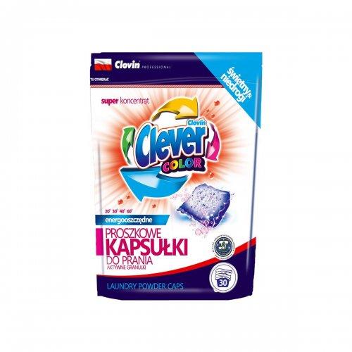 Capsule pulbere de spălat Herr Clever Color 30pcs x 18g