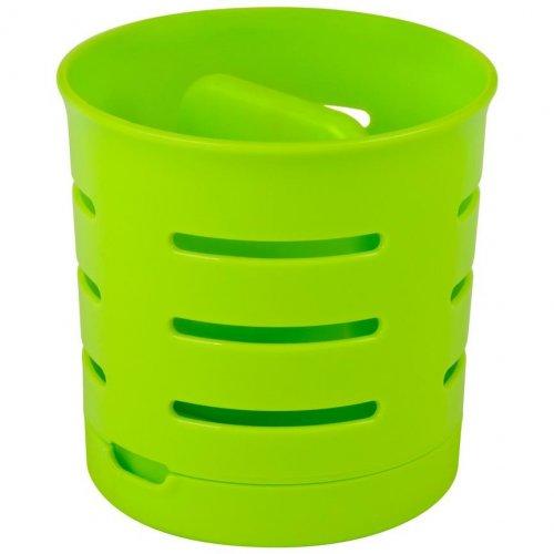 Curver Dubler pentru tacâmuri cu două compartimente Green 204382