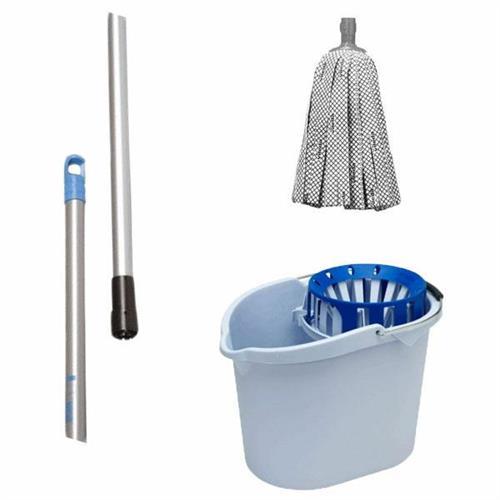 Set de curățare pentru cupă Floare + Mop + Bar 140cm Vileda Professional