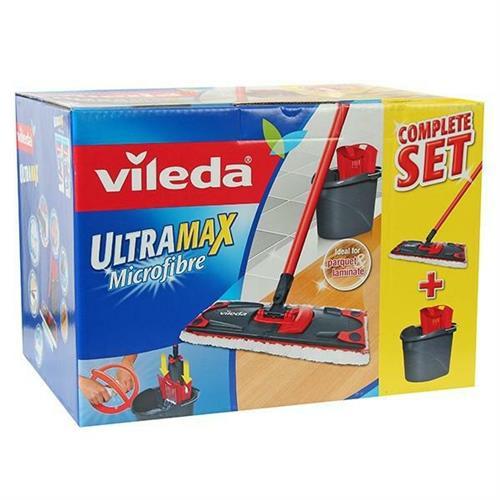 Galeata cu storcator si mop Vileda Ultramax Box 155737