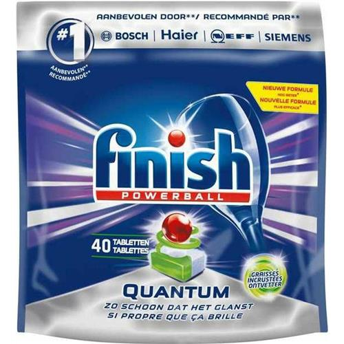 Tablete Quantum Max pentru masina de spalat vase 40 buc Finish Powerball