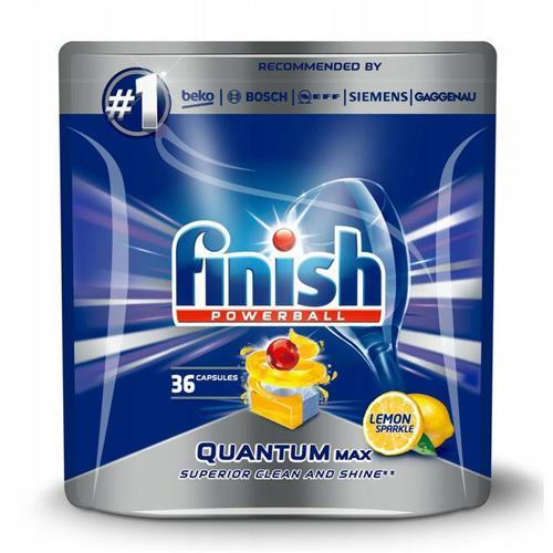 Finish Quantum Max Tablete de spălat vase cu lămâie 36 buc