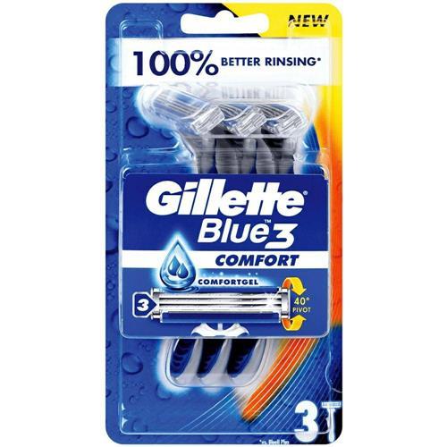Gillette Blue3 Comfort Mașini de bărbierit 3 buc