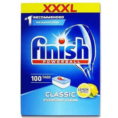Finish Powerball Comprimate pentru mașina de spălat vase 100 buc Lemon